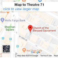 map to theatre 71 - click to view